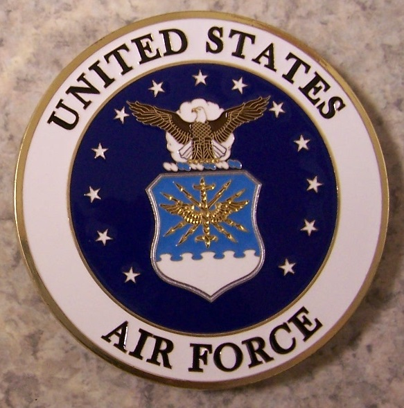 Air Force Car Grill Badge thumbnail