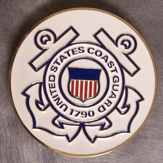 Coast Guard Car Grill Badge thumbnail