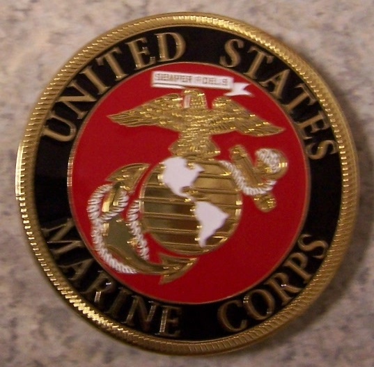Marine Corps Car Grill Badge thumbnail