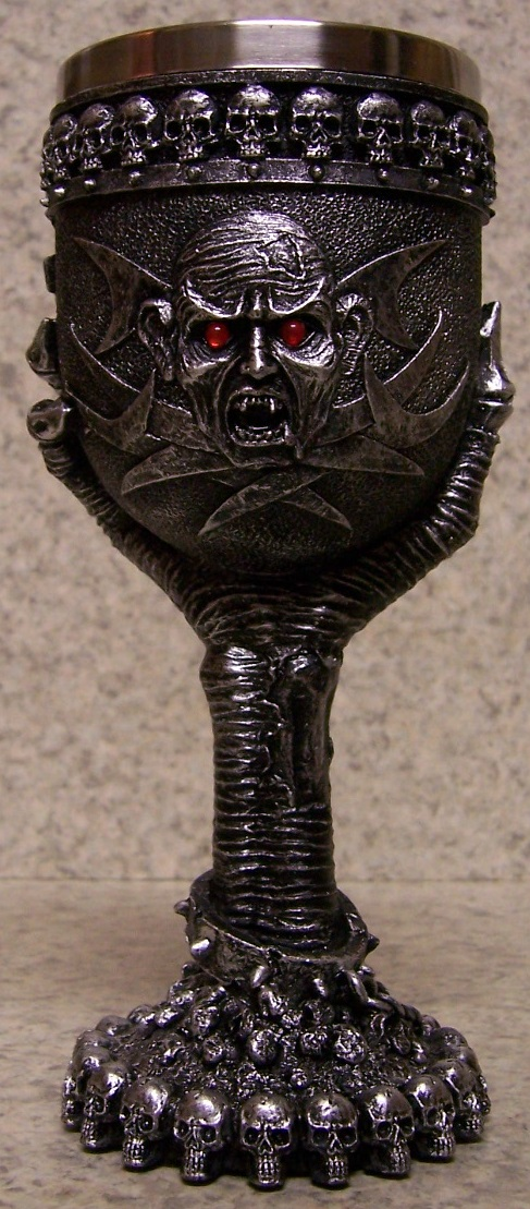 Ghoul and Claw Wine and Champagne Goblet 6 ounce pour thumbnail
