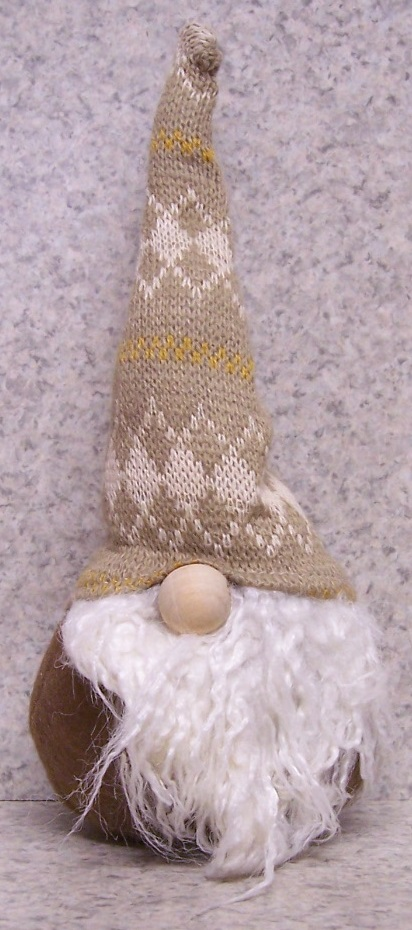 Christmas Gnome polyester Table Decor 555A http://lionheart-designs.com/inventory.shtml