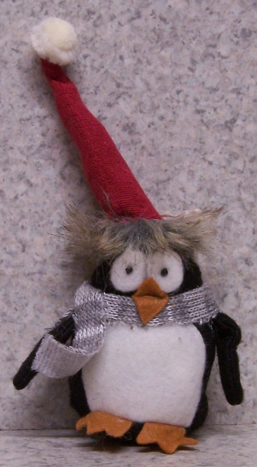 Christmas Penguin Tree Ornament Table Decor 162A thumbnail http://lionheart-designs.com/inventory.shtml
