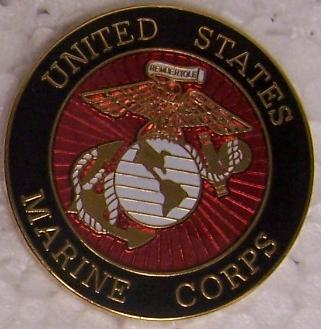 Large Hat Pin Marine Corps Emblem Jacket Epaulet New | eBay