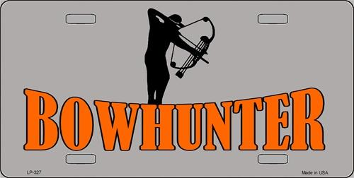 Bowhunter Aluminum License Plate America at Play thumbnail