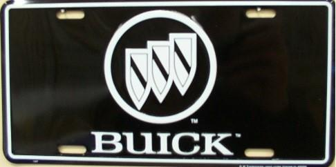 Buick Aluminum License Plate thumbnail
