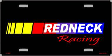 Redneck Racing Aluminum License Plate thumbnail