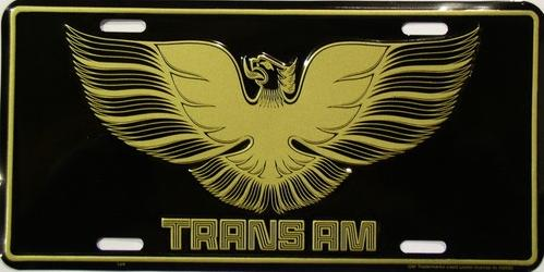 Pontiac Trans Am Aluminum License Plate thumbnail