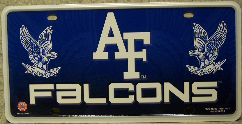 Air Force Academy Aluminum Military License Plate thumbnail