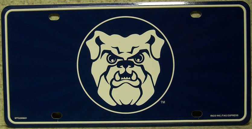 Butler University Bulldogs NCAA Aluminum National Collegiate Athletic Association License Plate thumbnail