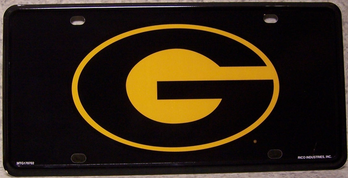 Grambling Tigers NCAA Aluminum National Collegiate Athletic Association License Plate thumbnail