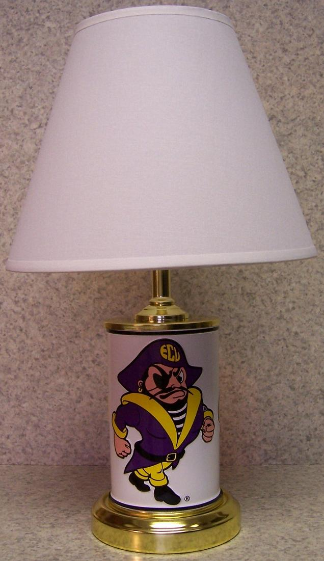 Welcome To The Manor Ncaa Table Lamps