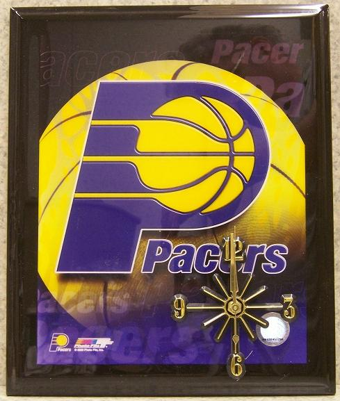 Indiana Pacers National Basketball Association battery operated NBA wall clock