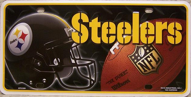 Pittsburgh Steelers National Football League Aluminum NFL License Plate thumbnail
