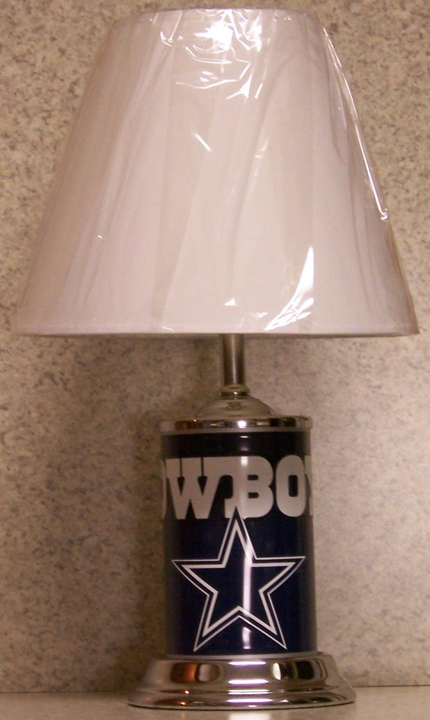 Welcome To The Manor Nfl Table Lamps
