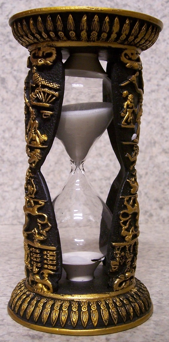 Egyptian Sand Timer Hourglass