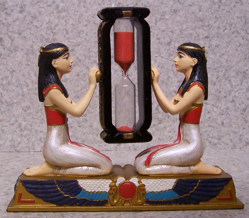 Egyptian Princesses Sand Timer Hourglass thumbnail