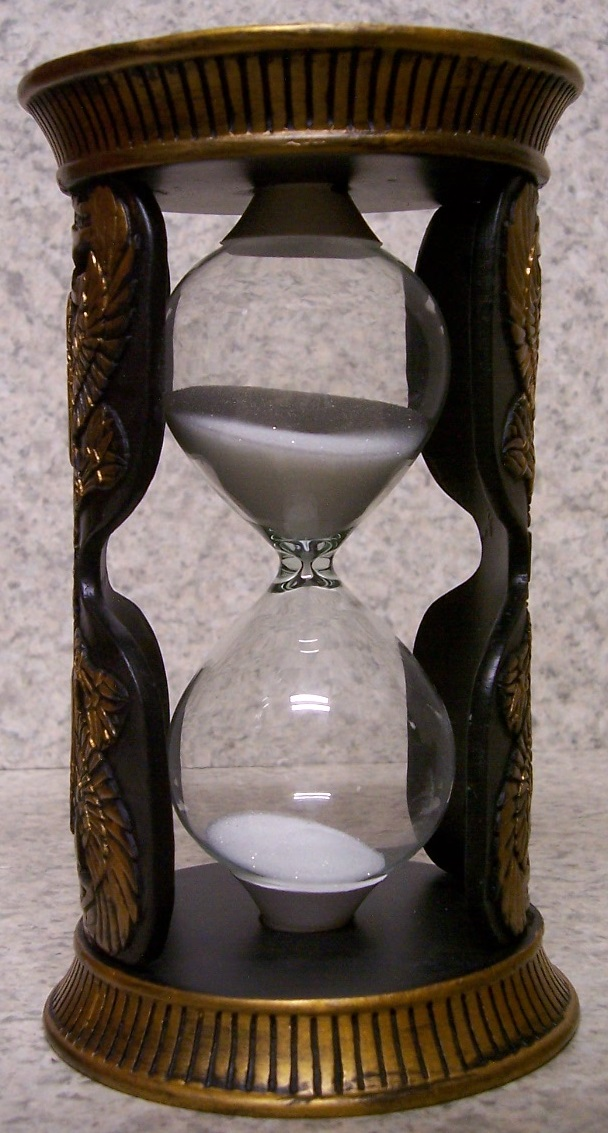Eye of Horus Sand Timer Hourglass thumbnail