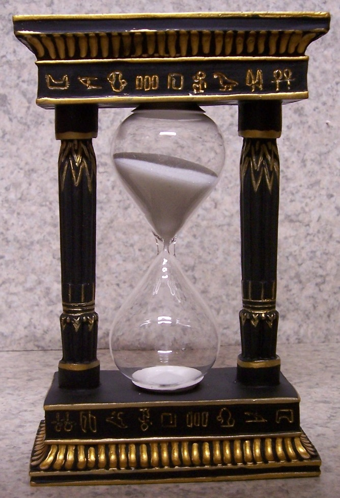 Egyptian Pharaohs Sand Timer Hourglass thumbnail