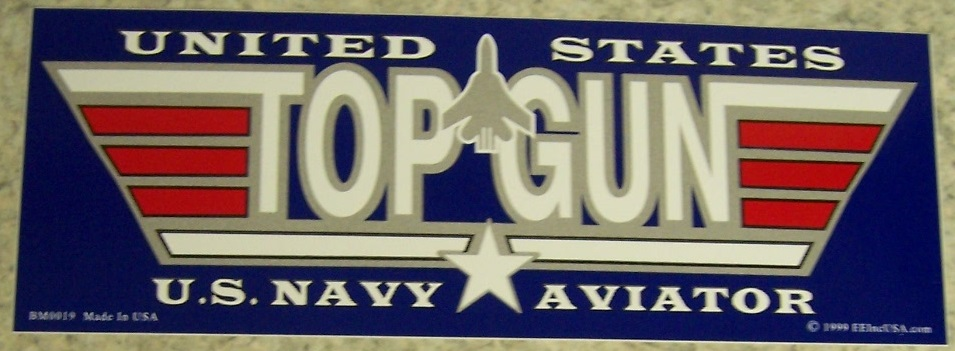 Top Gun Bumpers : Directory inventory stickers bumper
