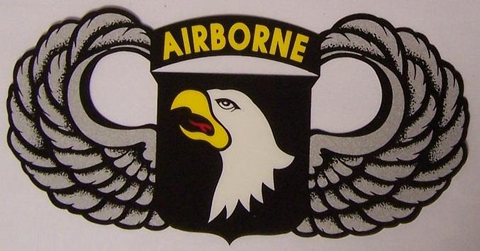 Window bumper sticker military army 101st airborne div for 101st airborne window decals