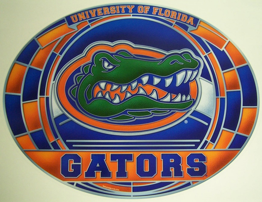 Florida Gator Stickers : Directory inventory stickers ncaa