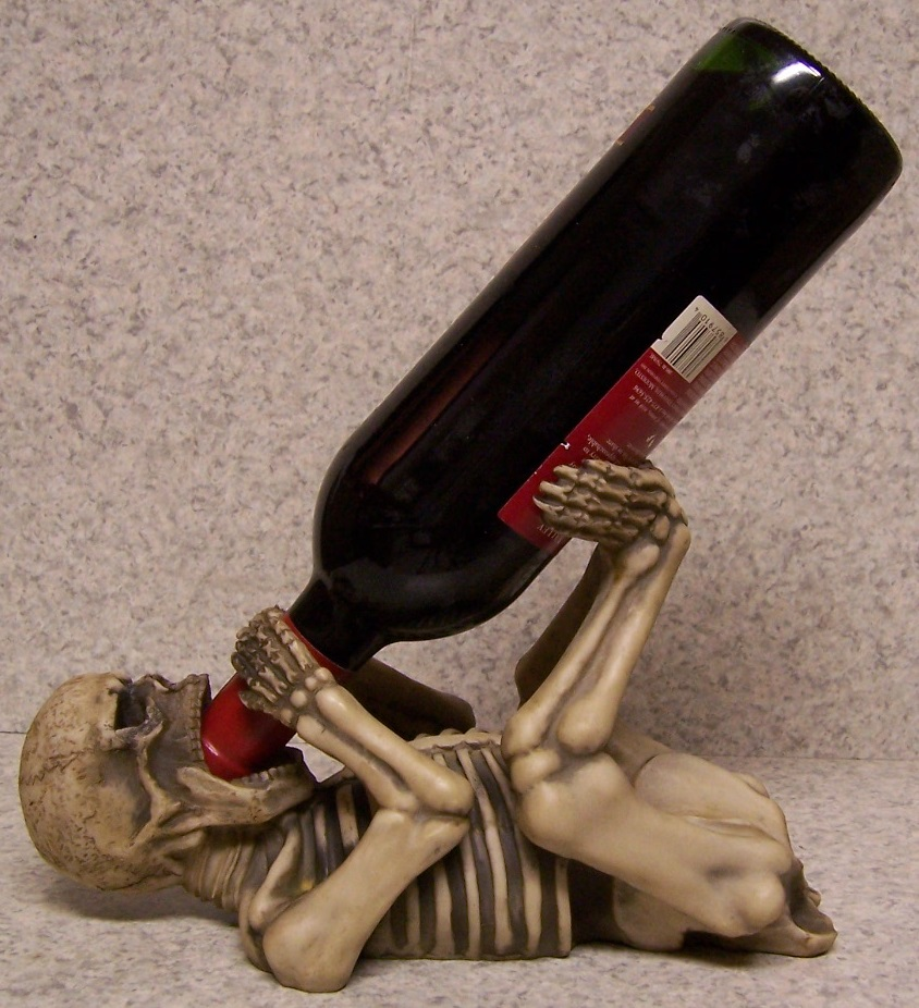 Bone Vivant Wine Bottle Holder thumbnail