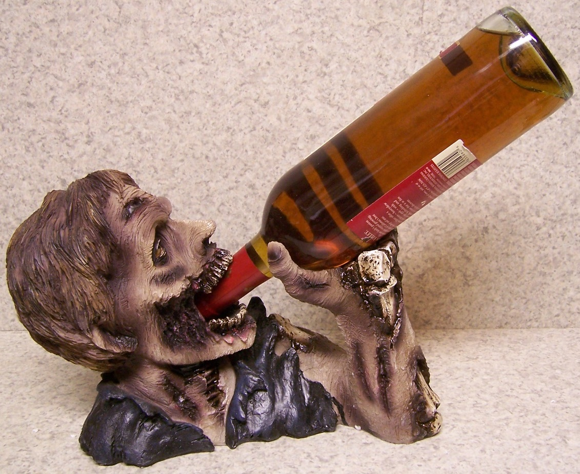 Elixir of the Undead Wine Bottle Holder thumbnail