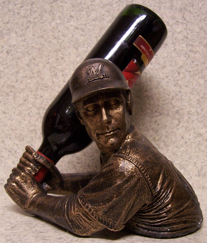 Milwaukee Brewers MLB Major League Baseball Wine Bottle Holder thumbnail