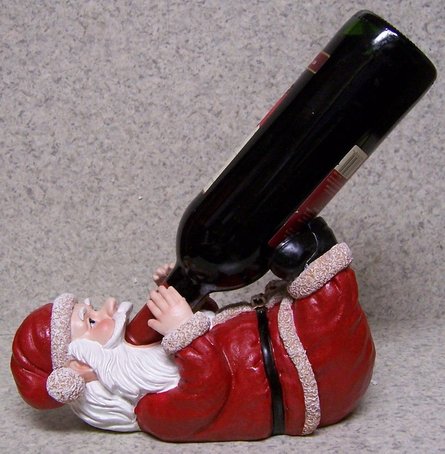 Santa Claus Wine Bottle Holder thumbnail