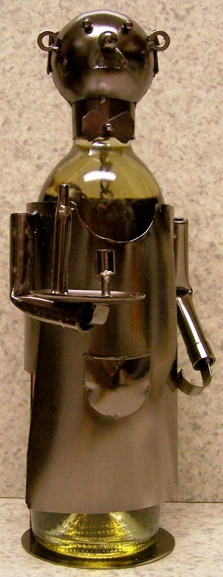 Waiter Metal Wine Bottle Holder thumbnail