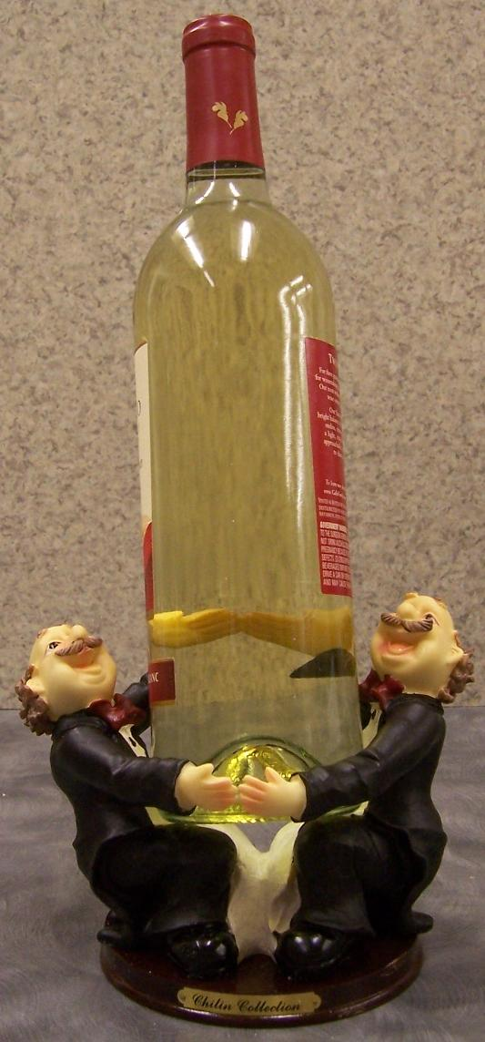 Two English Butlers Wine Bottle Holder thumbnail