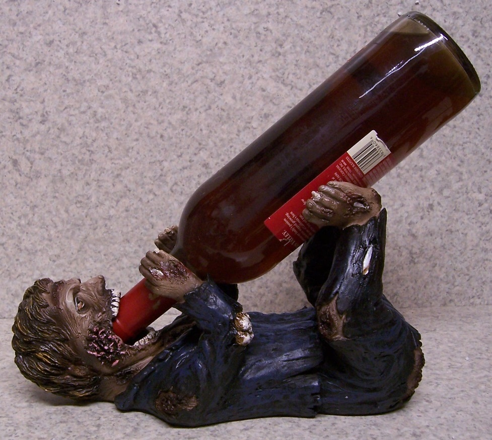 Libation of the Undead Wine Bottle Holder thumbnail