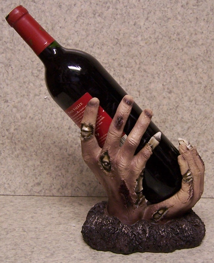 Zombie Hand Wine Bottle Holder thumbnail