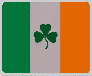 Irish Shamrock blanket international flag 50 by 60 inches 100 percent fleece polyester