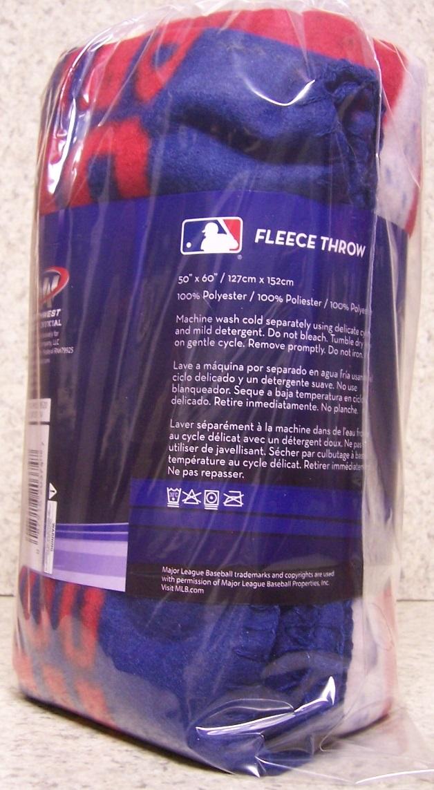 Atlanta Braves Bedroom Decor: Atlanta Braves MLB Fleece Twin Sized Blanket Major League