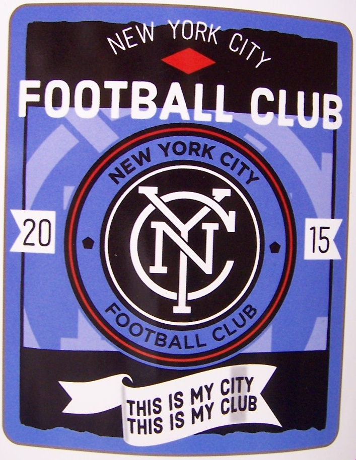 New York City Football Club MLS blanket Major League Soccer 50 by 60 inches 100 percent fleece polyester