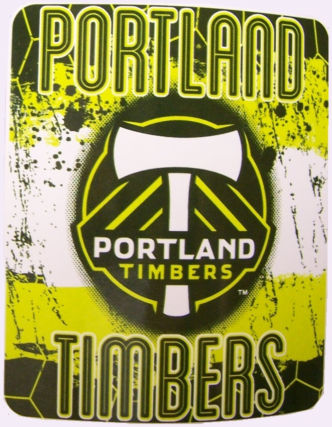 Portland Timbers MLS blanket Major League Soccer 50 by 60 inches 100 percent fleece polyester