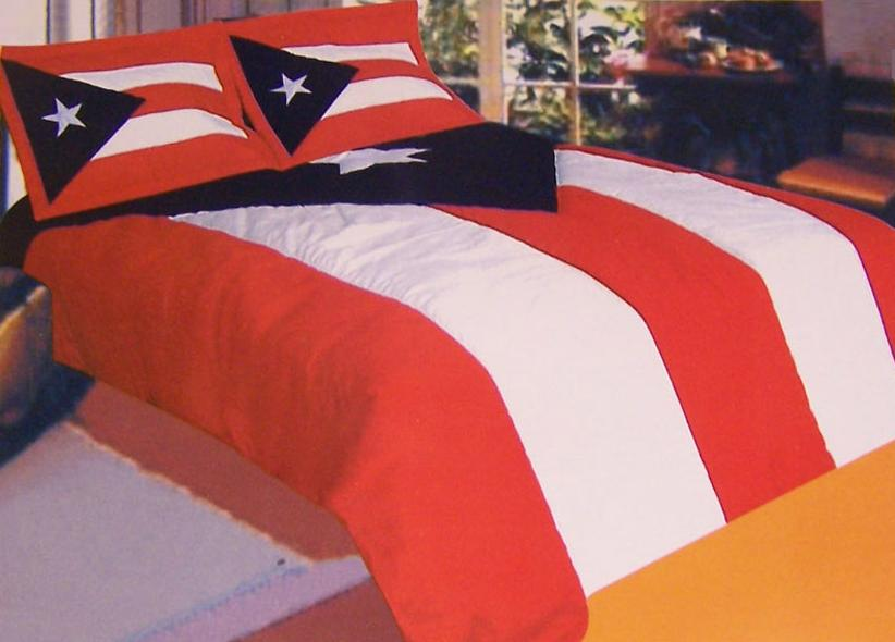 Details About Comforter Bedspread Puerto Rico Flag 68x86 Twin NEW