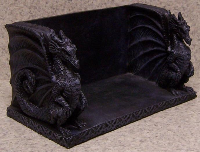 Bookends knick knack shelf gothic dragons book ends nib ebay - Gothic bookends ...