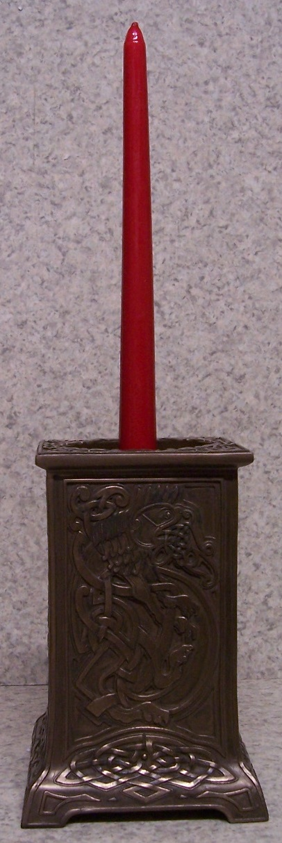 Celtic Lion Candle Votive Holder stick candle