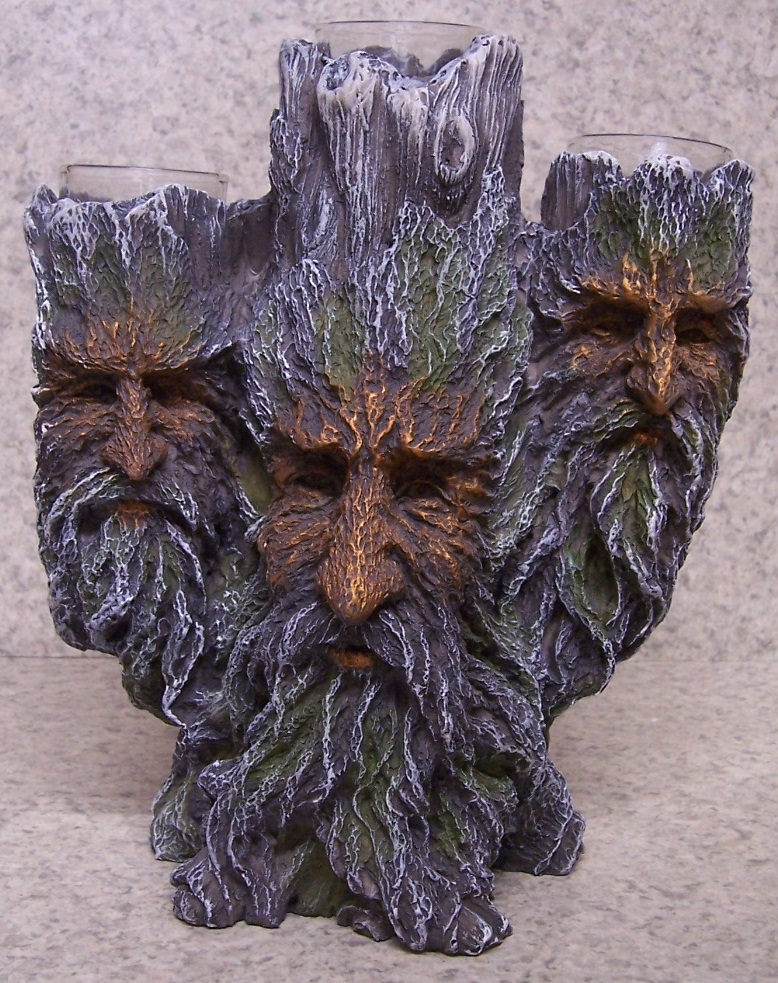 Greenman Candle Votive Holder thumbnail