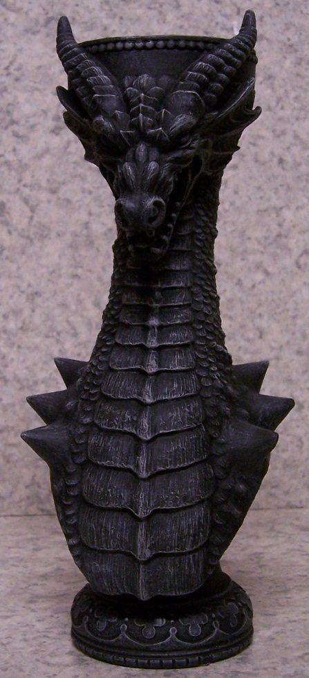 Majestic Dragon Candle Votive Holder front