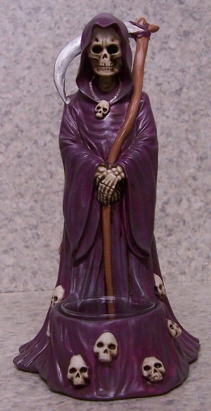 Reaper and Scythe Candle Votive Holder thumbnail