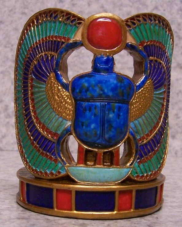 Scarab Beetle Candle Votive Holder thumbnail