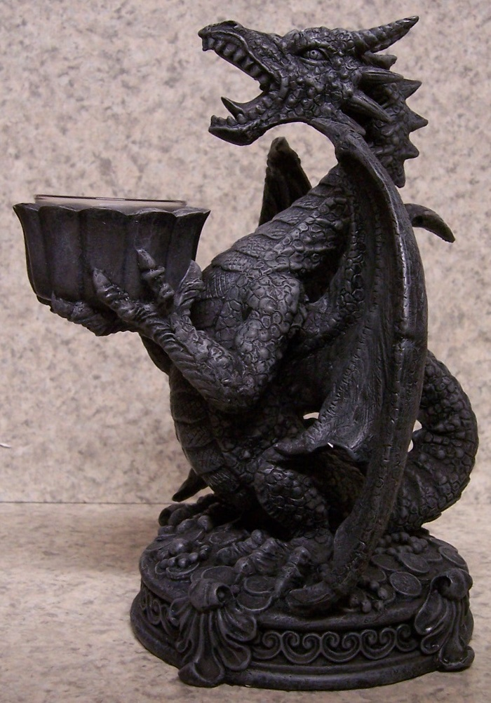 Screaming Dragon Candle Votive Holder thumbnail
