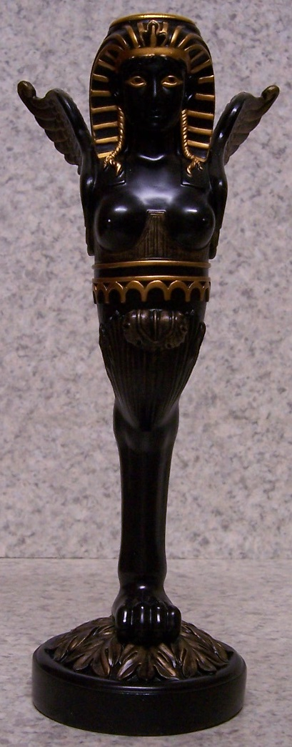 Egyptian Sphinx Candle Votive Holder thumbnail
