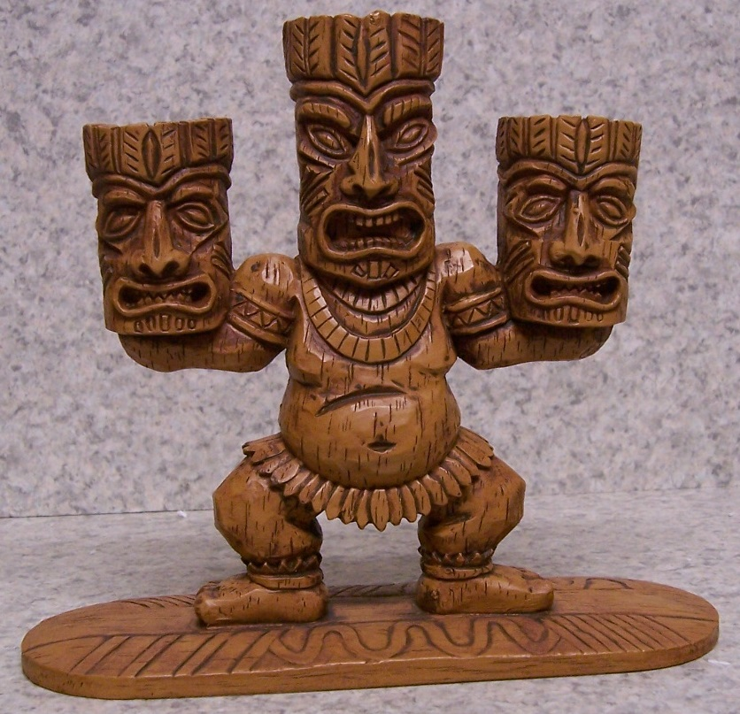 Tiki Surfer Candle Votive Holder thumbnail