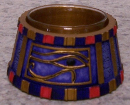 Eye of Horus Candle Votive Holder thumbnail