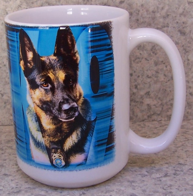 K-9 Corps Fire, Police and Rescue coffee mug thumbnail