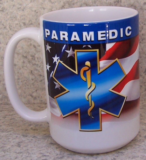 Paramedic Fire, Police and Rescue coffee mug thumbnail